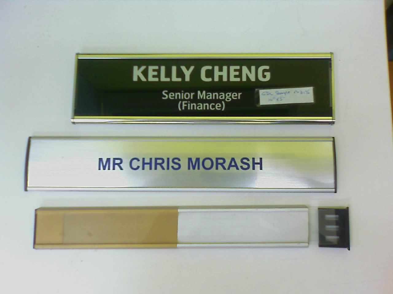 Door Plaque Holder Amp Set Of 2 Office Sign Holder For Wall