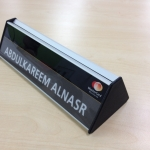 60mm-2-sided-aluminium-nameplate-with-black-end-caps